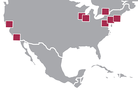 North American Locations